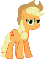Applejack Is Not Amused by The-Crusius
