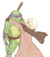 Pay attention - TMNT by cheenot
