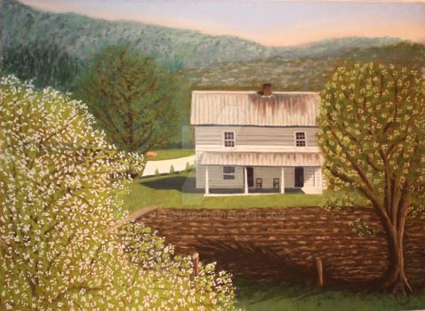 Tazwell Home Place by MsTechArt