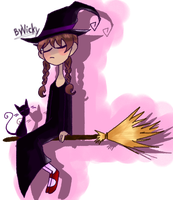 effect of witch by VickyGoose