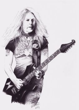Lita Ford by AminVakili
