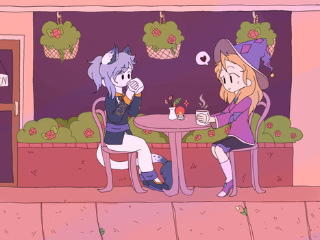 [ce] cafe date by fizzupop