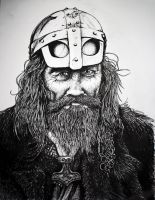 Old Viking Portrait by artbyjpp