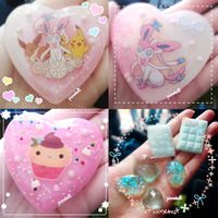 Resin Charms 7 by pianobelt0