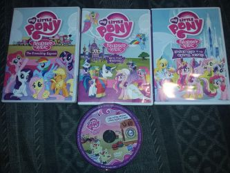 MLP DVD COLLECTION COMPLETED by AnimeCitizen
