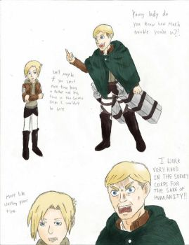 Daddy Erwin colored by coolman229