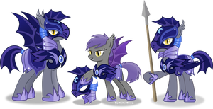 Nightmare moon's Guard by Vector-Brony