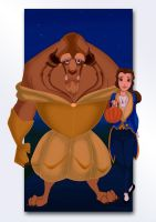 Beauty and the Beast by S-Harkey