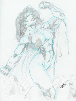 Other She-Hulk pinup by Sinclair by zefly88