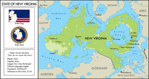 New Virginia Map by YNot1989