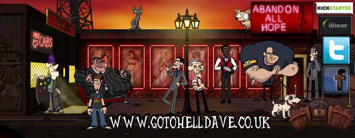 Go To Hell Dave British point and click game by GoToHellDave