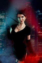 CatWoman DC Bombshells Comics Cosplay by AGflower