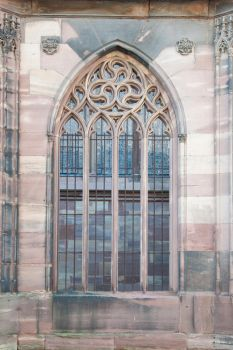 gothic window by rainbows-stock