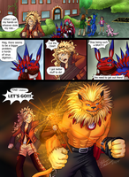 BnB: M and E: PP1 - Attack of Virus Page 1 by Lord-Evell