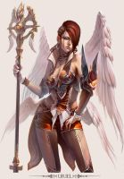 MMO Game Character design Uriel by yuchenghong