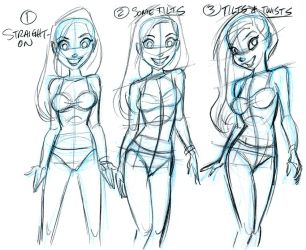 Tilts and Twists sketch by tombancroft