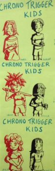 Chrono Trigger Kids by Marle1010