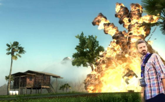 Fukuy-just Cause 2 Explosion by FoGone