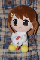 K-ON! Yui Hirasawa Chicken Costume Plush by HannahDoma