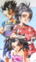 Saiyans of the  6th Universe by Unmei-no-kaioshin