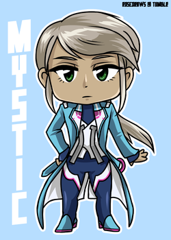 Blanche Chibi by rose-star