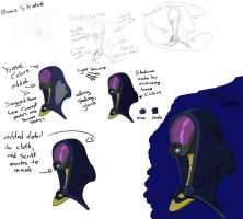 Tali Sketch and tutorial by ZacicVolkshed