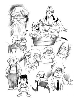 Old Peoplez by cluedog