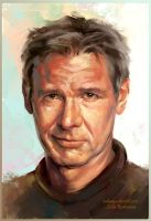 Harrison Ford by ladunya