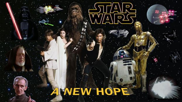 Star Wars - A  New Hope by RoyPrince