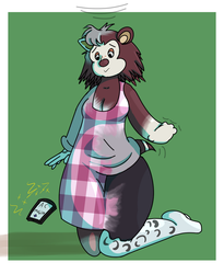 Characters month - Sable (Animal Crossing) by DustyError