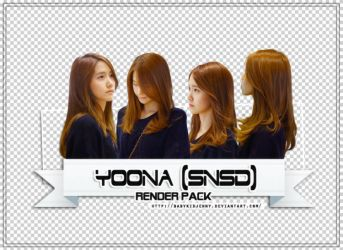 [RENDER-PACK#09] Yoona (SNSD) - By Lin Riley by babykidjenny