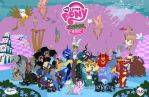 My Little Pony Chaos is magic wallpaper by x-Princess-Cadance-x
