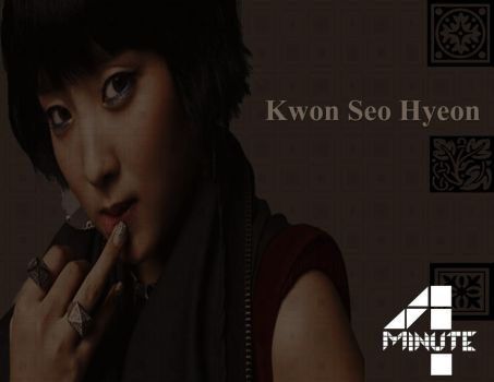 Kwon Seo Hyeon - 4 minute by ninfadelmar