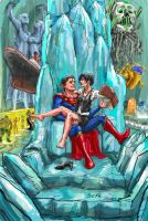 Superman and Lois by 08yo8387