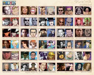 One Piece characters are real life people part.2 by SATOart