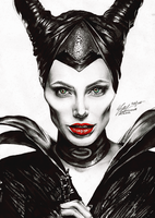 Maleficent. by FreedomforGoku