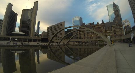 Nathan Philipps Square by XaBe20