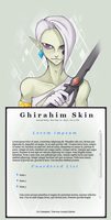 Ghirahim Journal Skin by xlolfishx