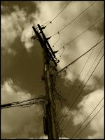 Telephone Pole by mikeakabatman