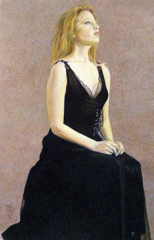 Portrait of a Young Woman IV by balloonfactory