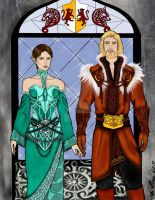 Mages and Royalty by MacedonianMuse