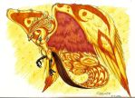 Ujjivelos,the phoenix by Barguest