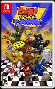 FNaF Pizza Tycoon - Nintendo Switch Cover by PinkyPills