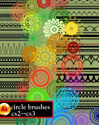 Circle Brushes Ai Cs2-cs3 by roula33