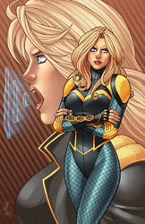 Black Canary - Legacy by JamieFayX