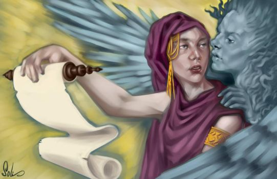 Delphic Oracle by Cryptic-nomad