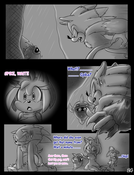 Meeting The Werehog pg.24 by Mitzy-Chan