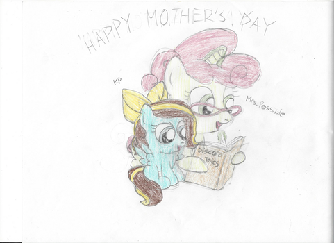 Happy Mother's Day! (KP and Mrs. Possible) by KaylaTechHeart