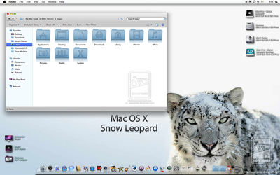 Snow Leopard Final Release by sagorpirbd