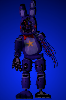 Withered Bonnie 2k18 by NeitherThePug
